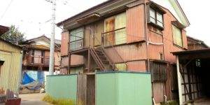 大阪市A様宅屋根の調査