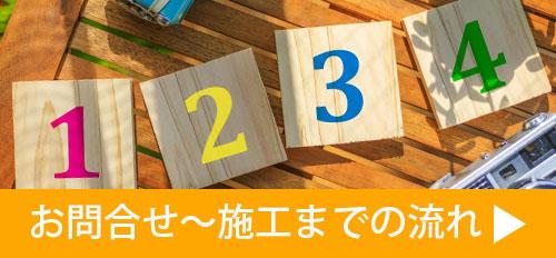 施工までの流れ,,大阪,屋根修理,火災保険